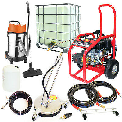 £13/WEEK on LEASE Business Pack Petrol Pressure Washer Driveway Drain Cleaning