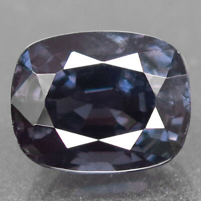 3.8ct.Awesome Gem! 100%Natural Titanium Color Spinel Unheated Gem AAA Nr!