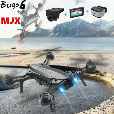 MJX B6 Bugs 6 Brushless C5830 Camera 3D Roll Twoway Control Racing Quadcopter