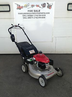 Honda Lawn Mower Self Propelled Battery Electric Start Commercial Mulching Yard