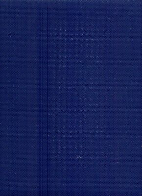 14 Count Zweigart Navy Blue Aida Cross Stitch Fabric Fat Quarter 49x54cms