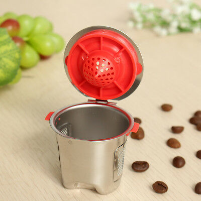 Reusable Replacement Coffee Filter Filling Capsule Stainless Steel For Keurig2.0