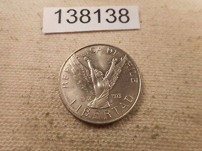 1977 Chile Five Pesos - Nice Raw Ungraded Collector Coin - # 138138
