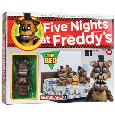 Five Nights at Freddy's small set The Bed with Nightmare Freddy figurine