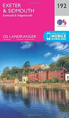 Exeter & Sidmouth, Exmouth & Teignmouth (OS Landranger Map) New Map Book Ordnanc