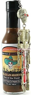"""DAY OF THE DEAD"" - HOT chilli sauce"