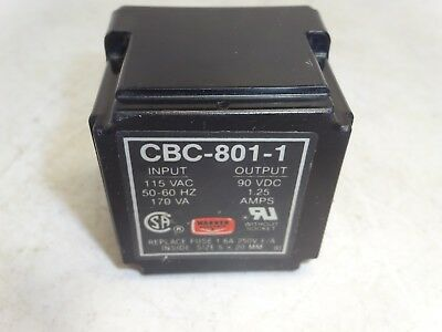 Warner Electric Cbc-801-1-W/o-Leds Control Power Supply