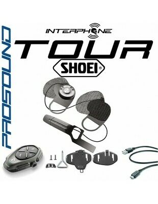 RXUK Tour single Interphone Cellularline Pro Sound SHOEI