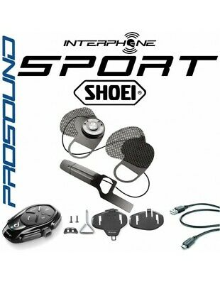 RXUK Sport single intercom Cellularline Pro Sound Shoei