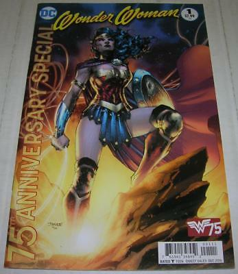 WONDER WOMAN 75TH ANNIVERSARY SPECIAL #1 (DC Comics 2016) Jim Lee cover (FN/VF)