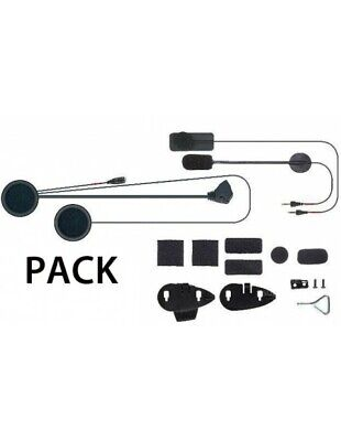 RXUK F3MC F4MC F5MC Audio Kit Cellularline Interphone headsets and dual micropho