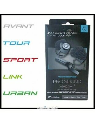 RXUK Kit Audio Pro Sound Interphone Cellularline Tour Sport Urban SHOEI