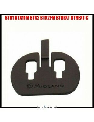 RXUK BTX1 / BTX2 / BTNext / FM series and adhesive mounting plate to the helmet
