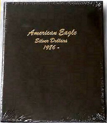 Dansco Album 7181 American Silver Eagles without PROOFS 1986-2021