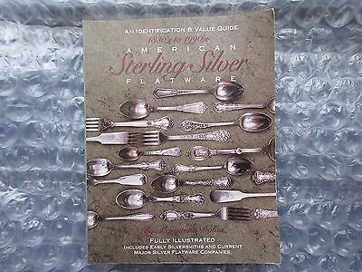 1993 Softcover Book American Sterling Silver Flatware