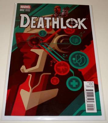 DEATHLOK # 2 Marvel Comic January 2015  NM 1:25 Whalen VARIANT COVER EDITION