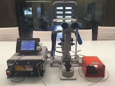 Zeiss Visulas 532S Green Argon Laser with Integrated LSL Factory Slit Lamp