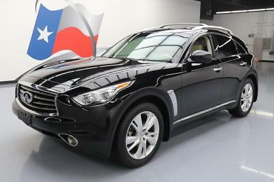 2013 Infiniti FX Base Sport Utility 4-Door 2013 INFINITI FX37 DELUXE TOURING SUNROOF NAV 20'S 46K #140136 Texas Direct Auto