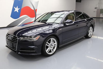 2016 Audi A6  2016 AUDI A6 3.0T QUATTRO PREM PLUS AWD SUNROOF NAV 7K! #189313 Texas Direct