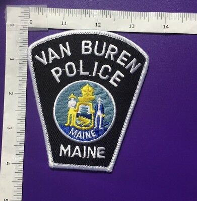 Van Buren Maine Police  Shoulder Patch