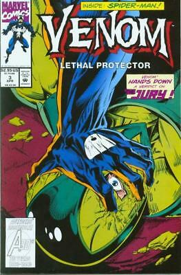 VENOM LETHAL PROTECTOR #3 VF/NM, Mini-Series, Spider-Man, Marvel Comics 1993
