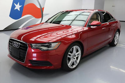 2015 Audi A6 Premium Plus Sedan 4-Door 2015 AUDI A6 2.0T PREM PLUS AWD SPORT SUNROOF NAV 31K #040525 Texas Direct Auto