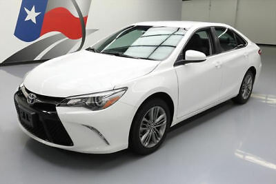 2016 Toyota Camry  2016 TOYOTA CAMRY SE PADDLE SHIFT REAR CAM ALLOYS 27K #179691 Texas Direct Auto