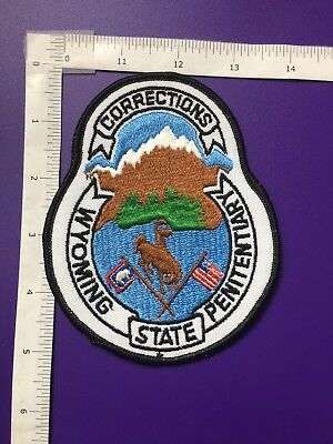 Wyoming State Penitentiary  Shoulder Patch
