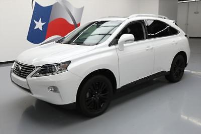 2014 Lexus RX Base Sport Utility 4-Door 2014 LEXUS RX350 PREMIUM LEATHER SUNROOF ALLOYS 50K MI #147065 Texas Direct Auto