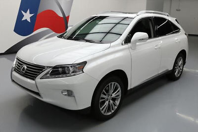2014 Lexus RX Base Sport Utility 4-Door 2014 LEXUS RX350 PREM SUNROOF NAV CLIMATE SEATS 74K MI #146098 Texas Direct Auto