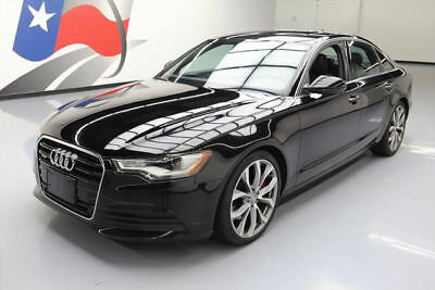 2014 Audi A6 Premium Plus Sedan 4-Door 2014 AUDI A6 2.0T PREMIUM PLUS AWD SUNROOF NAV 20'S 63K #080689 Texas Direct