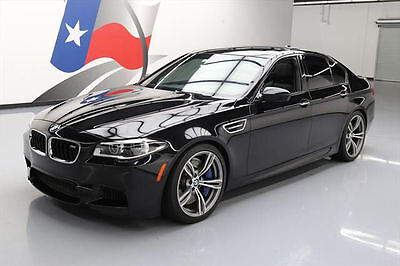 2014 BMW M5 Base Sedan 4-Door 2014 BMW M5 TWIN TURBO M-DCT SUNROOF NAV REAR CAM 39K #097251 Texas Direct Auto