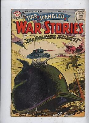 Star Spangled War Stories 55 Dc silver age comic Russ heath & Joe Kubert  art