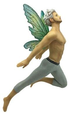 December Diamonds Avery Male Fairy Christmas Tree Ornament Faeries 5555024 Pixie