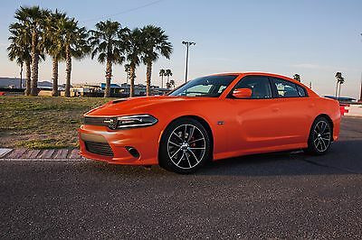 2017 Dodge Charger RT Scat Pack front  24X36 inch poster, sports car, muscle car