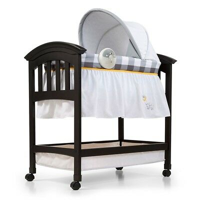 Summer Infant Classic Comfort Wood Bassinet - Buffalo Check