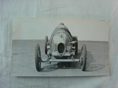 Vintage 1921 Photo Woseley E3 Racing Car 805