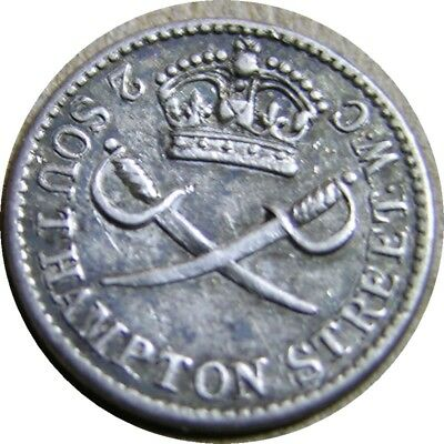 elf  Great Britain Penny The Regiment Weekly ND  Silver