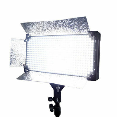 Dimmable 500 LED Video Photo Light Barndoor Panel 110V-240V Video Lighting