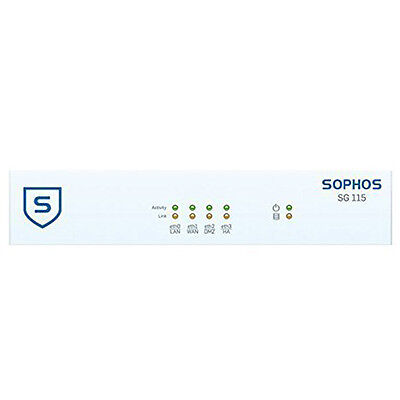 Sophos SG 115 TotalProtect 1-year EU power cord 4GB RAM 64GB SSD