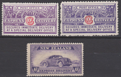 New Zealand 1903/30's Express Delivery Collection Mint Mounted