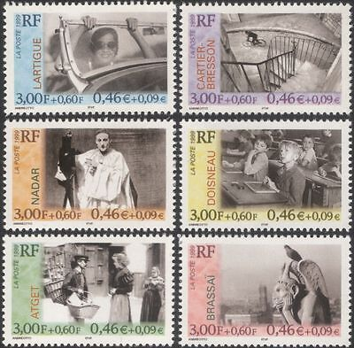 France 1999 Photographers/Photography/Birds/Bicycle/Camera/People 6v set  n45308