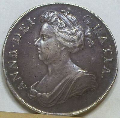 England Crown 1707 VF/Extremely Fine