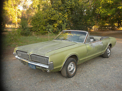 1967 Mercury Cougar XR7 1967 Mercury Cougar XR7 Barn Find