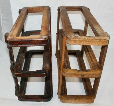 Two Vintage Sewing Machine Drawer Frame Systems / MUST SEE..LOOK!!!!!!!!!!