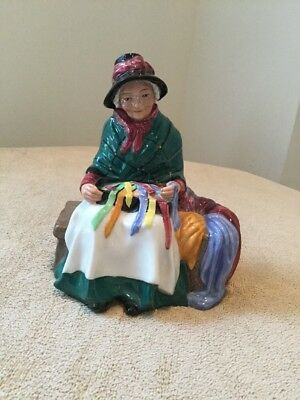 """Royal Doulton Figurine """"Silks And Ribbons"""" HN 2017 Copr. 1948"""