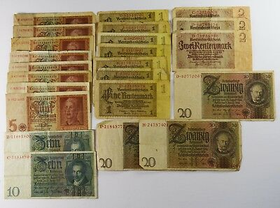 Lot Of 23 - Germany 1924-1942 Including The 3Rd Reich -  Vg/vf