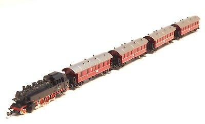 81416 Marklin Z-scale German Commuter Train set with (DB) cl 86 steam locomotive