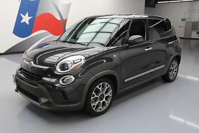 2014 Fiat 500L Trekking Hatchback 4-Door 2014 FIAT 500L TREKKING PREMIER NAV REAR CAM BEATS 13K #007011 Texas Direct Auto