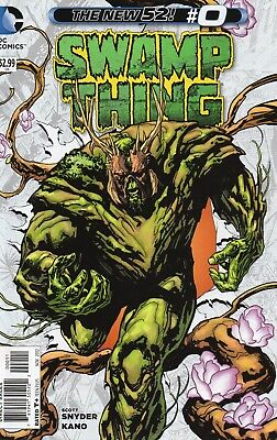 Swamp Thing #0 (NM) `12 Soule/ Kano